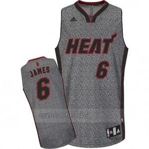 Canotta LeBron James #6 miami heat moda static
