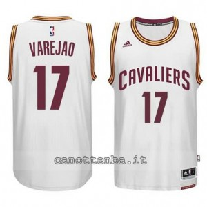 Canotta anderson varejao #17 cleveland cavaliers 2014-2015 bianca