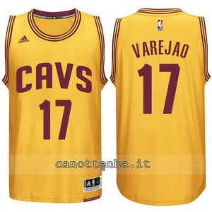 Canotta anderson varejao #17 cleveland cavaliers 2014-2015 giallo