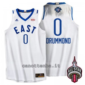 Canotta andre drummond #0 nba all star 2016 bianca