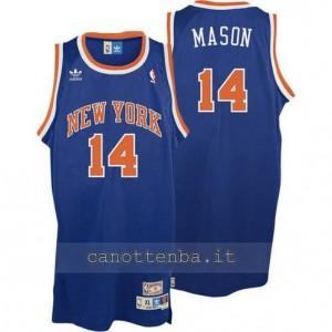 Canotta anthony mason #14 new york knicks soul blu