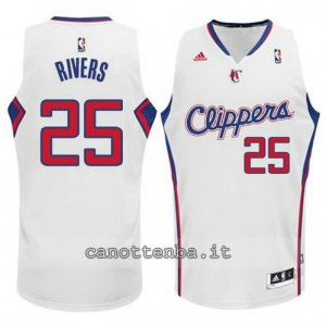 Canotta austin rivers #25 los angeles clippers 2014-2015 bianca