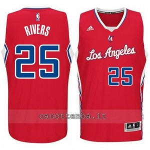 Canotta austin rivers #25 los angeles clippers 2014-2015 rosso