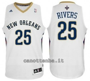 Canotta austin rivers #25 new orleans pelicans revolution 30 bianca