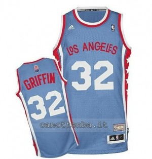 Canotta blake griffin #32 los angeles clippers classico blu