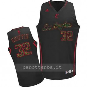 Canotta blake griffin #32 los angeles clippers moda camo
