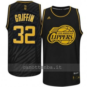 Canotta blake griffin #32 los angeles clippers moda nero