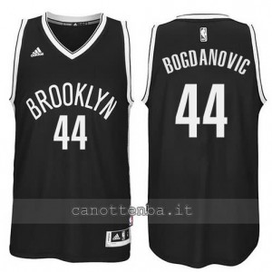 Canotta bojan bogdanovic #44 brooklyn nets revolution 30 nero