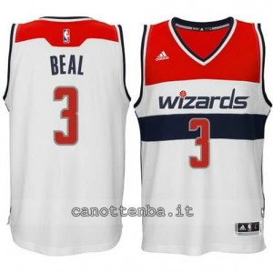 Canotta bradley beal #3 washington wizards 2014-2015 bianca