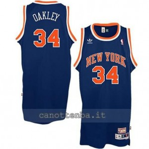 Canotta charles oakley #34 new york knicks soul blu