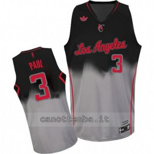 Canotta chris paul #3 los angeles clippers moda fadeaway