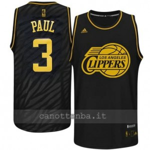 Canotta chris paul #3 los angeles clippers moda nero