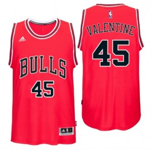 Canotta denzel valentine 45 chicago bulls draft 2016 rosso
