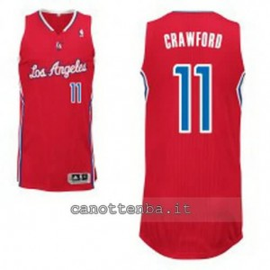 Canotta jamal crawford #11 los angeles clippers revolution 30 rosso