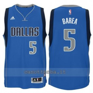 Canotta jj barea #5 dallas mavericks 2015 blu
