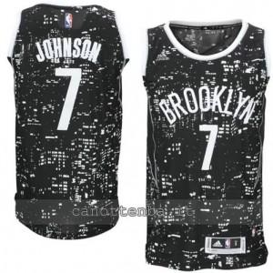Canotta joe johnson #7 brooklyn nets lights nero