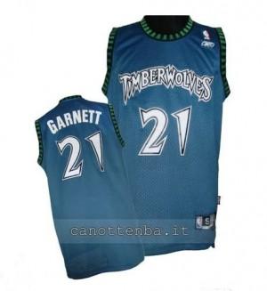 Canotta kevin garnett #21 minnesota timberwolves soul blu