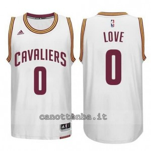 Canotta kevin love #0 cleveland cavaliers 2014-2015 bianca