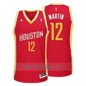 Canotta kevin martin #12 houston rockets revolution 30 rosso