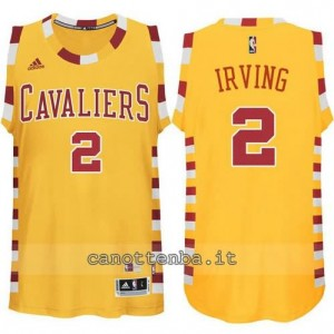 Canotta kyrie irving #2 cleveland cavaliers classico giallo