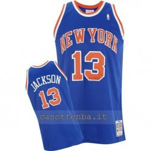 Canotta mark jackson #13 new york knicks blu