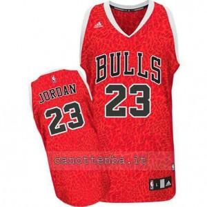 Canotta michael jordan #23 chicago bulls pazzo rosso