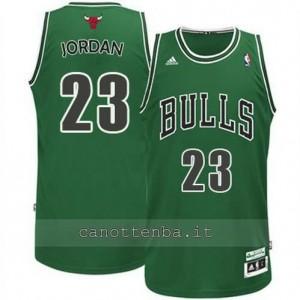 Canotta michael jordan #23 chicago bulls revolution 30 verde