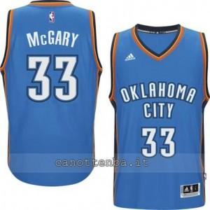 Canotta mitch McGary #33 oklahoma city thunder 2014-2015 blu