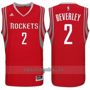 Canotta patrick beverley #2 houston rockets 2014-2015 rosso