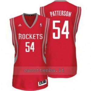 Canotta patrick patterson #54 houston rockets revolution 30 rosso