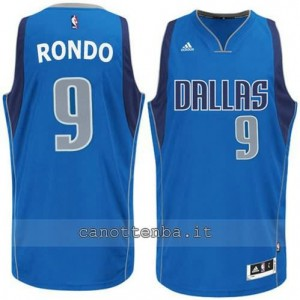 Canotta rajon rondo #9 dallas mavericks blu