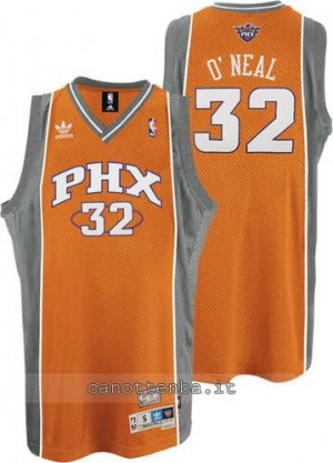 Canotta shaquille o'neal #32 phoenix suns soul arancia