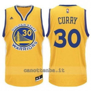 Canotta stephen curry #30 golden state warriors 2015-2016 giallo