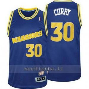 Canotta stephen curry #30 golden state warriors classico blu