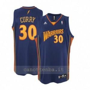 Canotta stephen curry #30 golden state warriors swingman blu