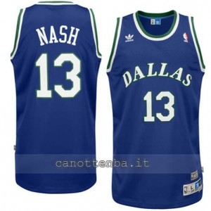 Canotta steve nash #13 dallas mavericks swingman blu