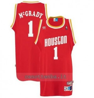 Canotta tracy McGrady #1 houston rockets soul rosso