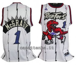 Canotta tracy McGrady #1 toronto raptors bianca