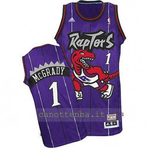 Canotta tracy McGrady #1 toronto raptors porpora