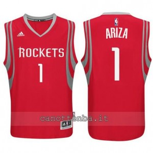 Canotta trevor ariza #1 houston rockets rosso