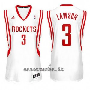 Canotta ty lawson #3 houston rockets 2014-2015 bianca