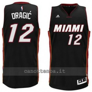 Canotta zoran dragic #12 miami heat 2014-2015 nero