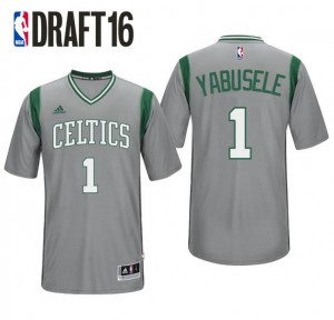 Canotta guerschon yabusele 1 boston celtics draft 2016 grigio