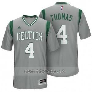 Canotta isaiah thomas #4 boston celtics alternato grigio