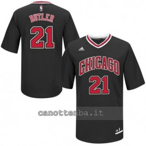 Canotta jimmy butler #21 chicago bulls nero
