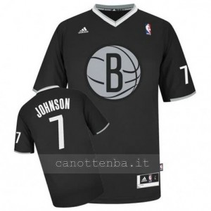 Canotta joe johnson #7 brooklyn nets nero