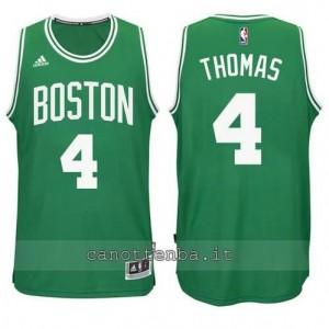 Canotta isiah thomas #4 boston celtics verde