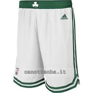 pantaloncini nba boston celtics bianca