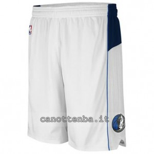 pantaloncini nba dallas mavericks bianca
