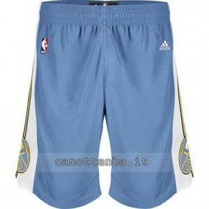 pantaloncini nba denver nuggets revolution 30 blu